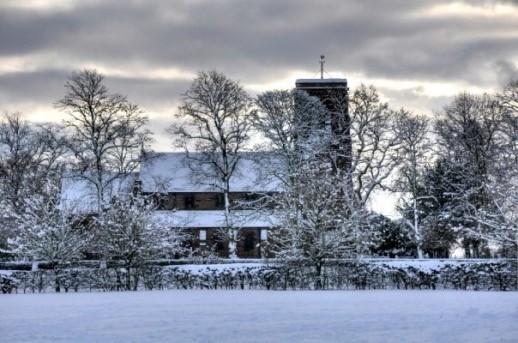 St Matthew's in Snow